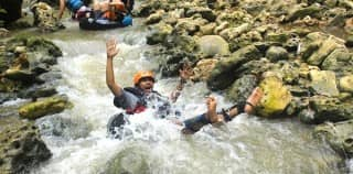 2D1N: Cave Tubing, Beach, Sunset Trekking, and Rafting
