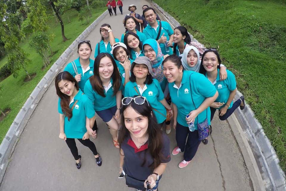 Borobudur Outing Huawei Indonesia